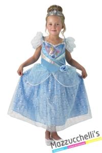 costume-bambina-ufficiale-disney-principessa-cenerentola---Mazzucchellis