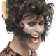 parrucca-uomo-lupo-marrone-corto-film---Mazzucchellis