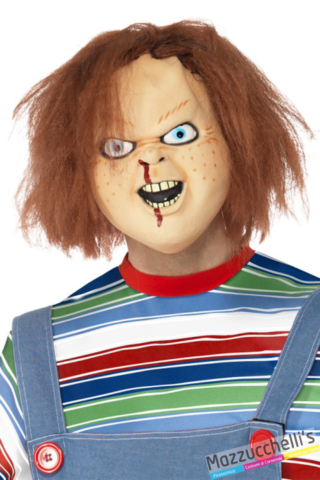MASCHERA CHUCKY film horror la bambola assassina LATTEX - Mazzucchellis