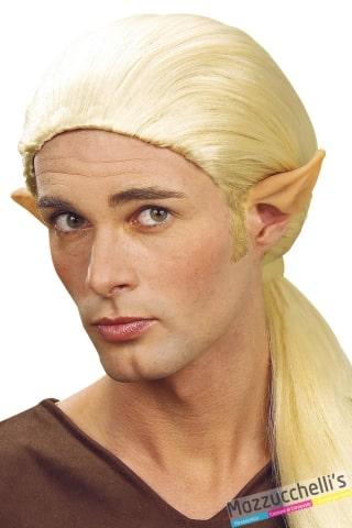 PUNTE PER ORECCHIE con tubetto colla elfo halloween carnevale feste a tema - Mazzucchellis