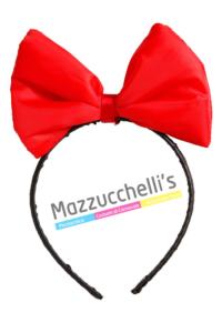 Cerchietto Con Fiocco Biancaneve bambina adulti - Mazzucchellis