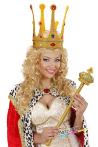 Corona Maxi Glitter con Gemme - Mazzucchellis