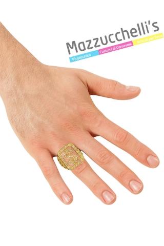 Anello Dollaro $ con Strass pappone lusso - Mazzucchellis