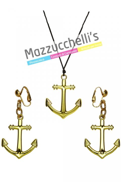 Collana e Orecchini Marinaretta lavori mestieri - Mazzucchellis