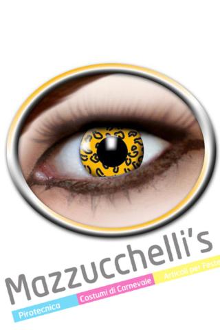 LENTI a contatto animale leopardo 1 ANNO halloween carnevale e altre feste a tema - Mazzucchellis