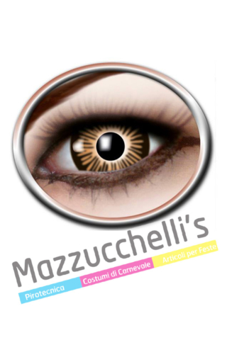 LENTI a contatto big eye brown 3 MESI carnevale halloween e altre feste a tema - Mazzucchellis