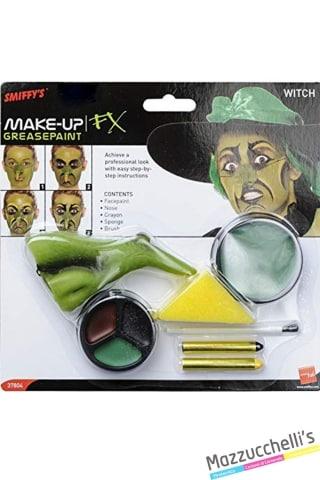trucco make-up kit strega halloween carnevale feste atema - Mazzucchellis