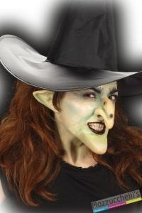 posticcio SET STREGAnaso, mento, punte per orecchie in qualità professionale con tubetto colla halloween carnevale halloween - Mazzucchellis