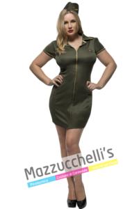 Costume Curvy Militare - Mazzucchellis