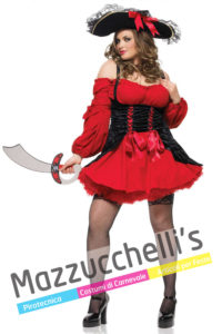 Costume Donna Curvy Piratessa