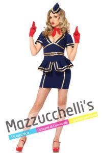 Costume Adulto Donna Mestieri Lavori Sexy Hostess