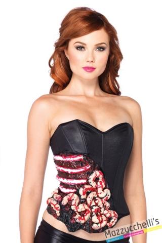corsetto horror carnevale halloween o altre feste a tema - Mazzucchellis