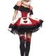 regina di cuori alice nel paese delle meraviglie carnevale halloween o altre feste a tema - Mazzucchellis