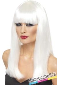 parrucca-bianca-lunga-con-frangia---Mazzucchellis