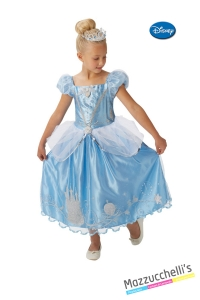 COSTUME bambina principessa film cenerentola CARNEVALE HALLOWEEN O ALTRE FESTE A TEMA - Mazzucchellis