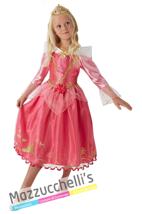 Costume Bella Addormentata Aurora – Ufficiale Disney™ - Mazzucchellis