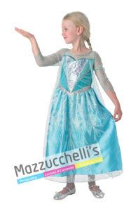 Costume Bambina Elsa di Frozen Principessa del ghiaccio- Ufficiale Disney™