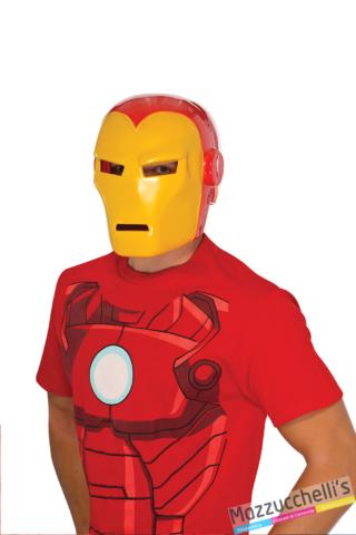 maschera iron man supereroe originale marvel - Mazzucchellis