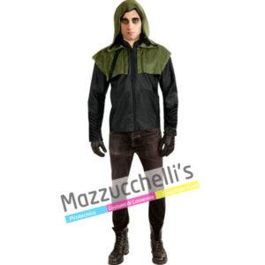 Il costume UFFICIALE DC COMICS del fantastico Arciere Mascherato ARROW