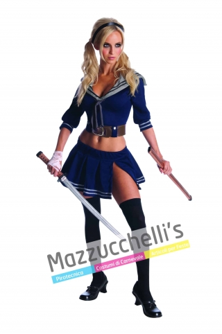 Il costume Ufficiale di Baby Doll del film Sucker Punch