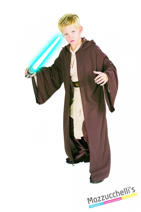 Costume Jedi - Ufficiale Star Wars CARNEVALE HALLOWEEN O ALTRE FESTE A TEMA - Mazzucchellis
