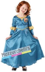 Costume Bambina Ribelle The Brave - Ufficiale Disney™