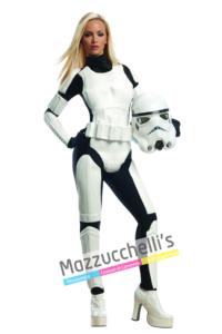 Costume Sexy Stormtrooper – Ufficiale Star Wars Disney™ - Mazzucchellis