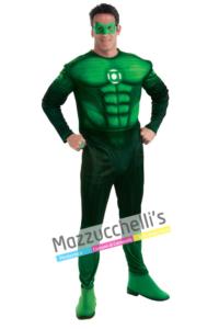 Costume Supereroe Jordan Lanterna Verde – Ufficiale - Mazzucchellis