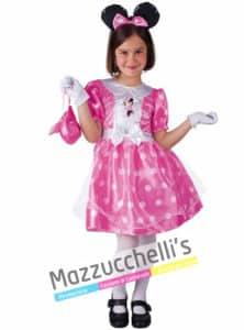Costume Bambina Topolina Rosa - Ufficiale Disney™