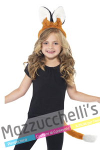 Kit Volpe Animale Bambini- Mazzucchellis