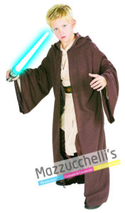 """costume Bambino da Jedi con Licenza Ufficiale Disney della saga fantascientifica di guerre Stellari """"STAR WARS™"""