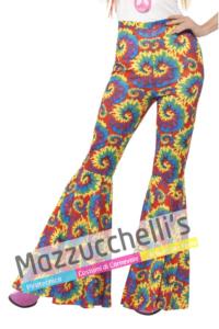 Pantaloni Zampa Colorati - Mazzucchellis