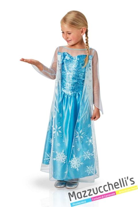 costume-bambina-ufficiale-disney-elsa-di-frozen-regina-del-ghiaccio---Mazzucchellis