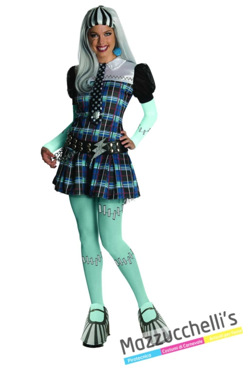 costume-danna-adulto-Frankenstein-Monster-High-cartone---Mazzucchellis