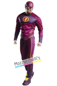 costume uomo supereroe flash - Mazzucchellis