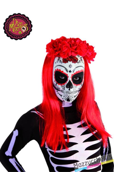 maschera il giorno della morte Day of the Dead halloween - Mazzucchellis