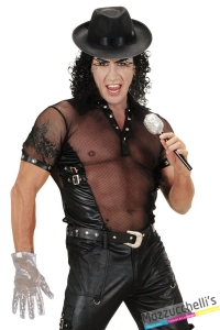 GUANTO ARGENTO PAILLETTES Michael Jackson cantante famoso carnevale halloween o altre feste a teme - Mazzucchellis
