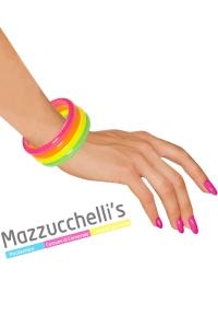 Braccialetti Fluorescenti Anni '80 '90 - Mazzucchellis