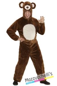 COSTUME Orso Carnevale, Halloween, Animale del bosco, del fantastico Cartone Masha e Orso- Mazzucchellis
