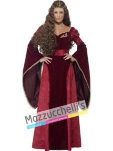 Costume Donna Regina Dama Medievale