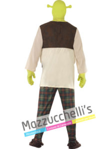 Costume da uomo del cartone animato Shrek