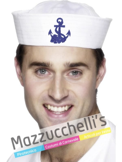 Cappello Marinaio lavori mestieri carnevale halloween o altre feste a tema