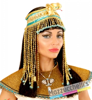Copricapo Fascia Cleopatra Storico