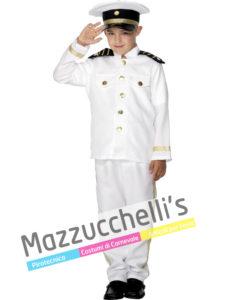 Costume Bambino Capitano della Marina