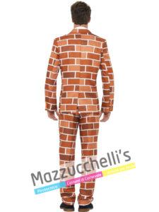 Costume Uomo Elegante Muro