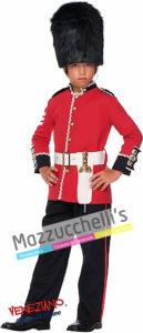 Costume Bambino Guardia Inglese Popoli del Mondo