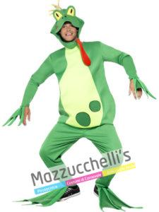 Costume Uomo Principe Ranocchio