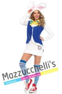 Costume Donna Sexy Bianconiglio di Alice
