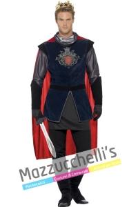 Costume uomo cavaliere medievale re artu' - Mazzucchellis