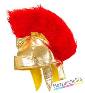 Copricapo Elmo per travestimento da guerriero romano